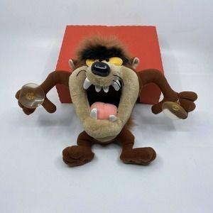 """Vintage 1994 Tasmanian Devil Stuffed Animal Taz 8"""""""